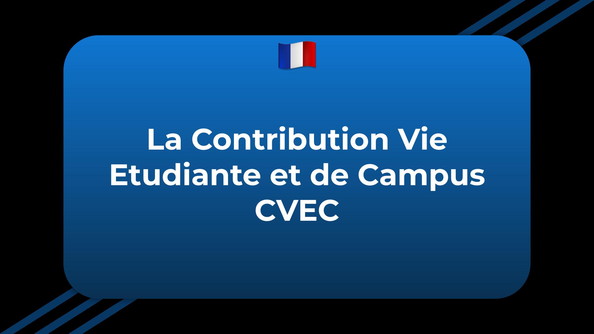 Contribution Vie Etudiante et de Campus
