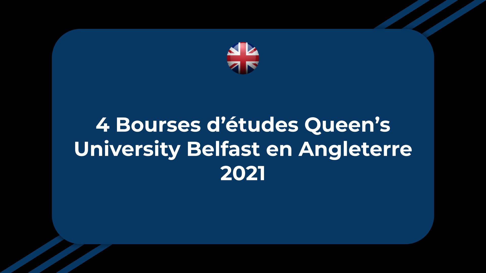 Bourses d'études Queen's University Belfast